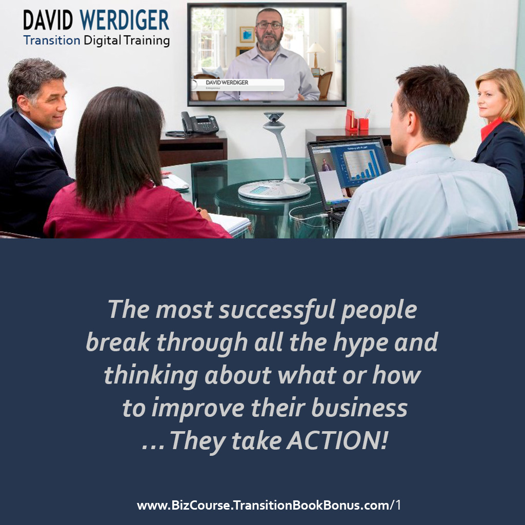 David Werdiger on Transition 8-module Video Training