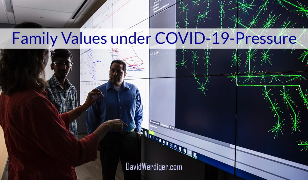 Family Values under COVID-19 Pressure by David Werdiger
