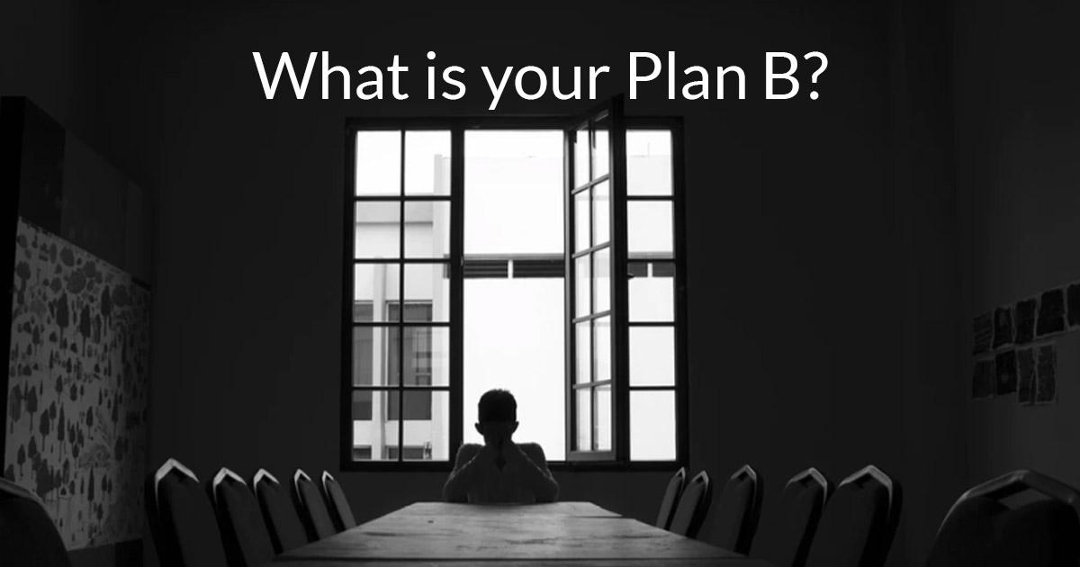 Transition or Plan B?
